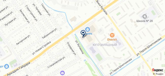АвтоРен на карте