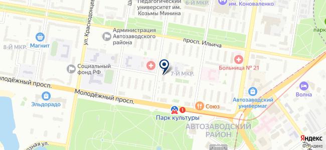 Проектмонтажналадка, ООО на карте