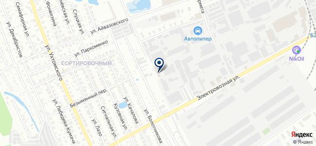 Компания СТК-Н на карте