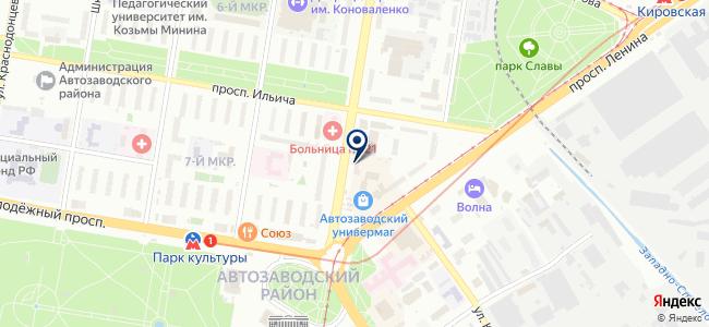 Волгаэнергосервис на карте