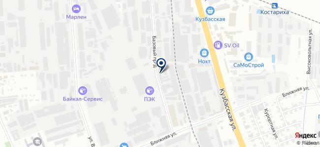 Нижегородэлектрозащита на карте