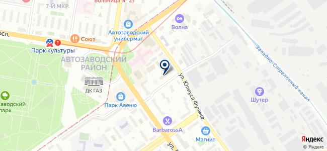 Гитэс НН на карте
