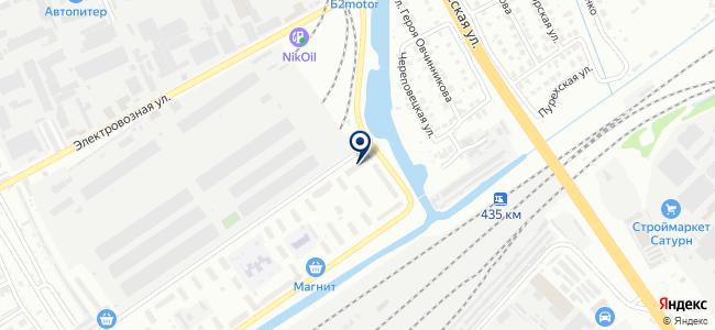Нижегородинструмент на карте