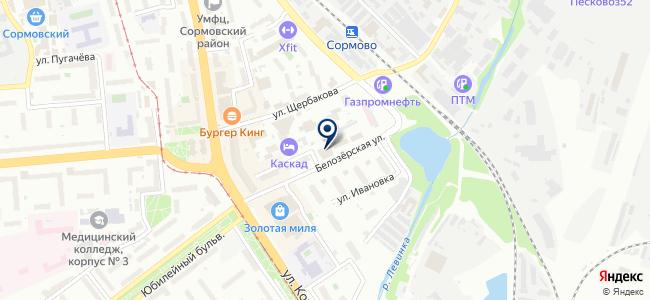 Термет-НН на карте