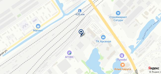 ТопТракСервис на карте
