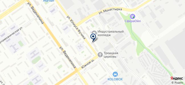 Спец, ООО на карте