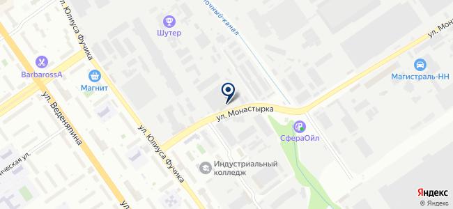 Сервис-К, ООО на карте