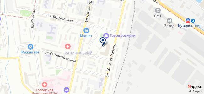 Круг-НН на карте