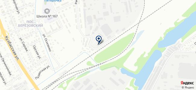 Энергомонтажный поезд №753 на карте