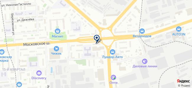 Папа Мастер на карте