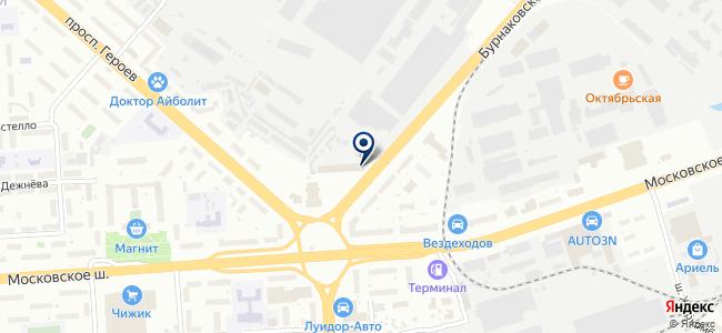 НижНовТехСервис на карте