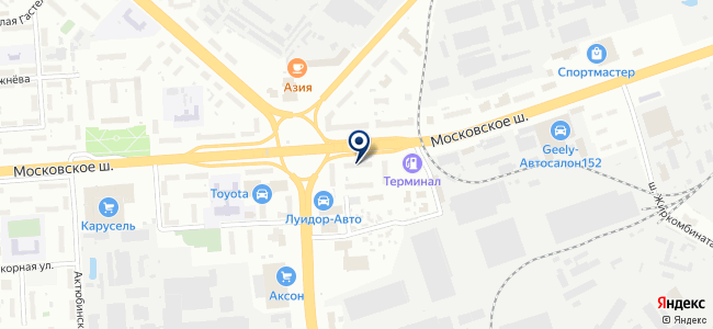 ЛАСТРЕЙД на карте