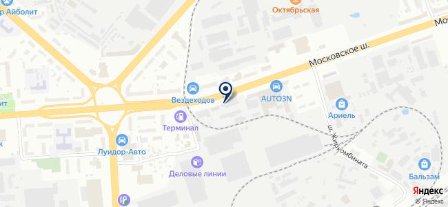 Блэйд на карте