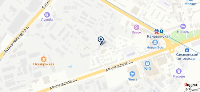 Альфа сервис НН на карте