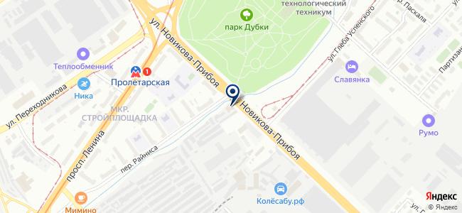 КрепКо-НН на карте