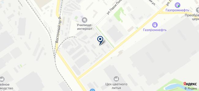 Технокабель на карте