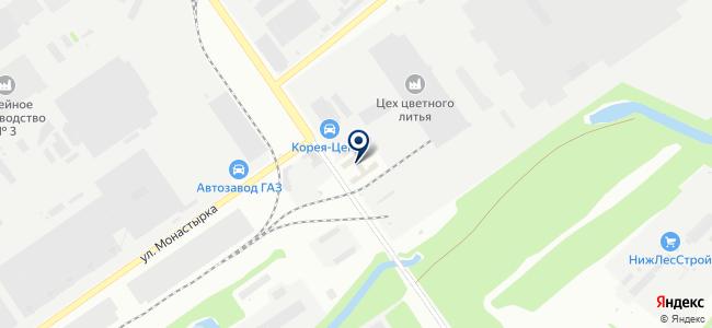 ПромТехНовация на карте
