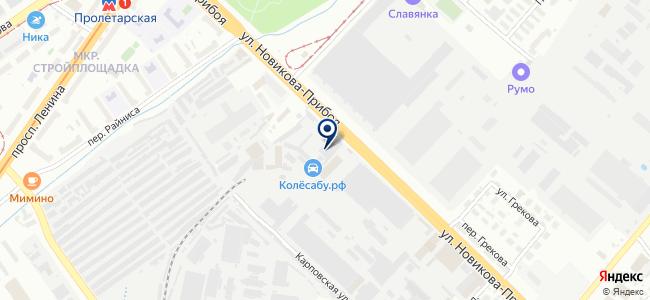 Элснаб на карте