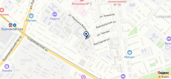 Рабосервис+ на карте