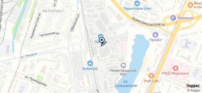 Снабсервис-Импорт на карте