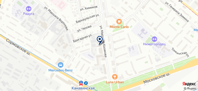 ЭМ-Маркет на карте