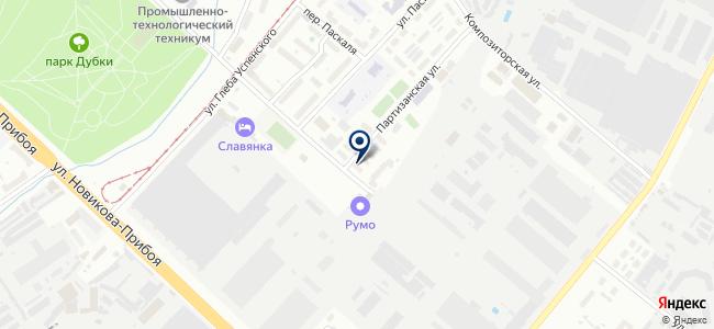 Авангард-Электро НН на карте
