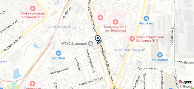 SmartHome на карте