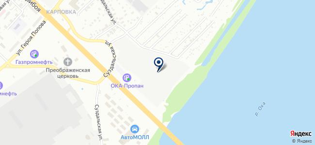 Сеть магазинов стройматериалов на карте