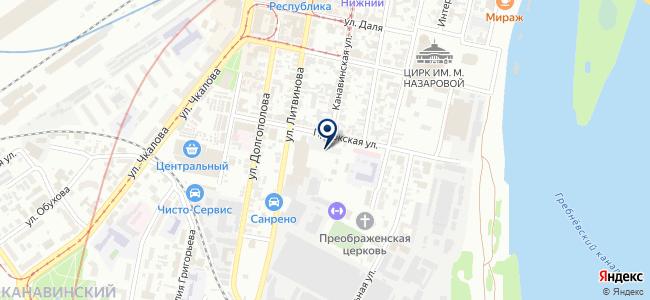 Штерн-НН на карте