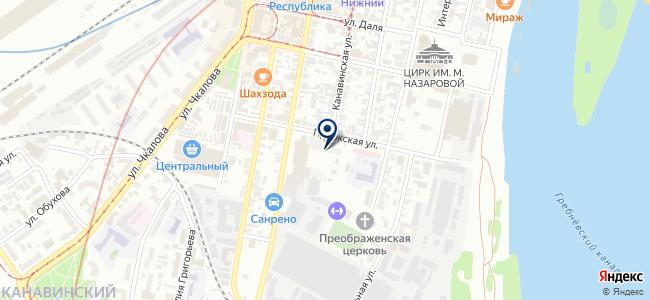 Центральная строительная ярмарка на карте