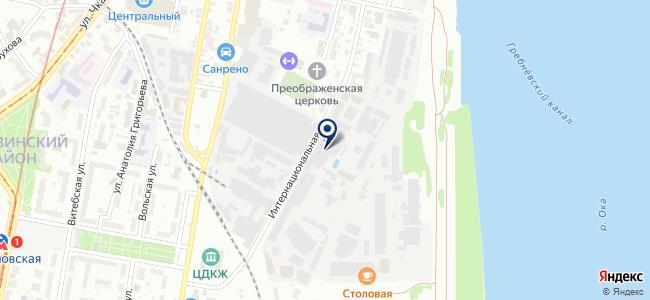 МиК на карте