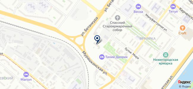 Универсал-Инвест на карте