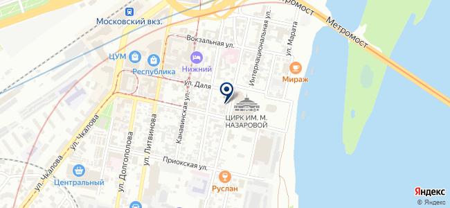 АЛМИ на карте