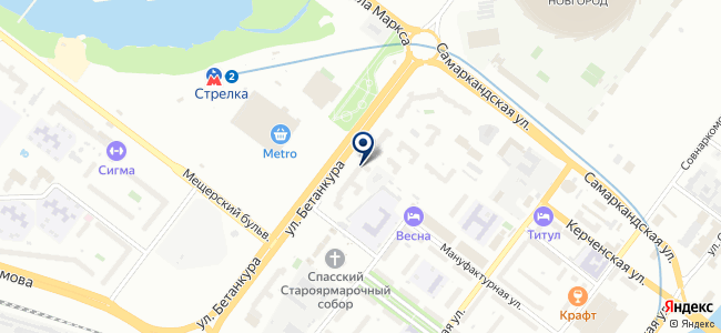Электроэнергия.рф на карте