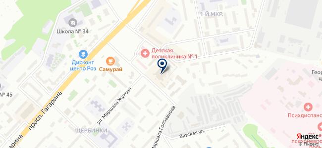 Магазин стройматериалов и сантехники на карте