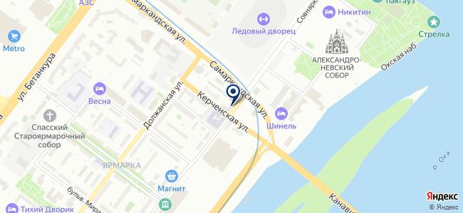 БИАКС на карте
