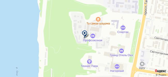 Группа СОЛАН на карте