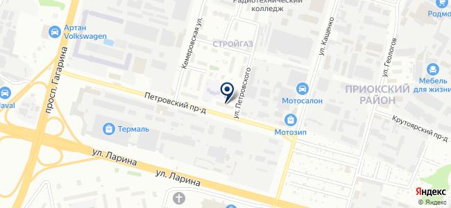 РемБлагСтрой на карте