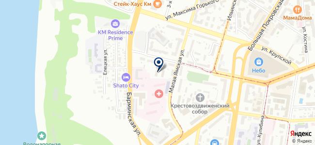 Аквилон на карте