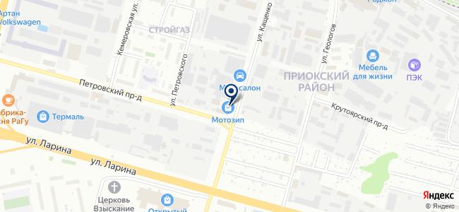 Техноякс на карте
