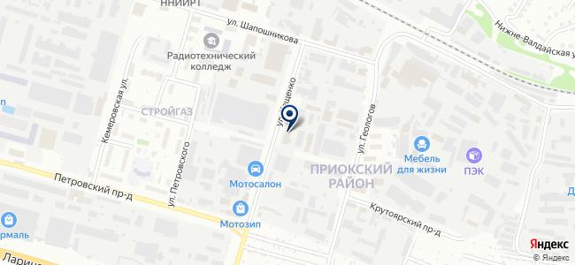 Проводник-НН, ООО на карте