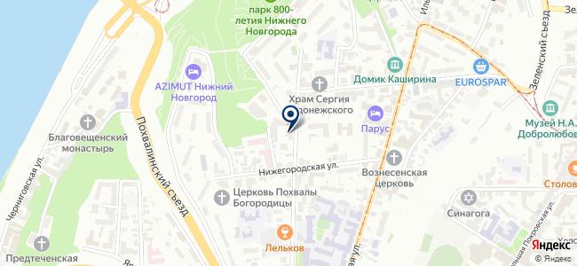 Волжский арсенал-НН на карте
