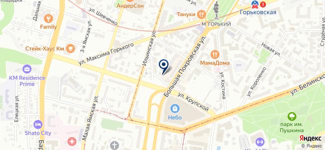 Спецмонтаж КС на карте