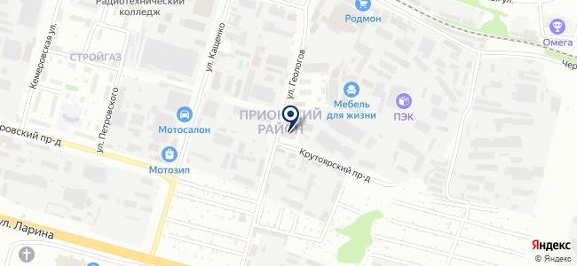 ИНТЕРСВЕТ-НН на карте