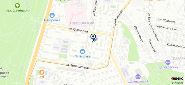 ВолгоВятСтройРесурс, ЗАО на карте