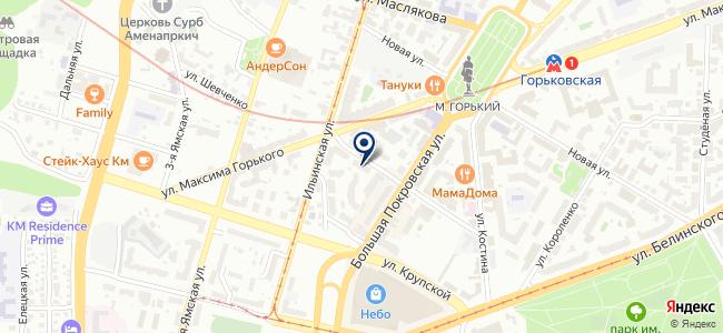Сеть хозяйственных магазинов на карте