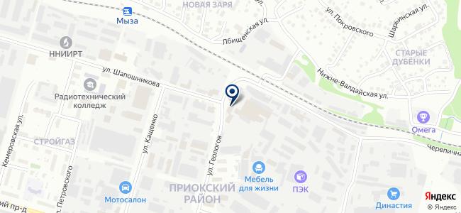 ИМП-НН на карте
