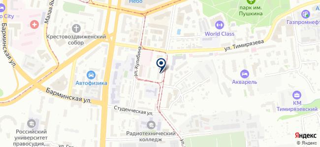 EURO LIGHT Нижний Новгород на карте