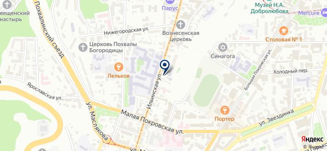 Инфотекс на карте