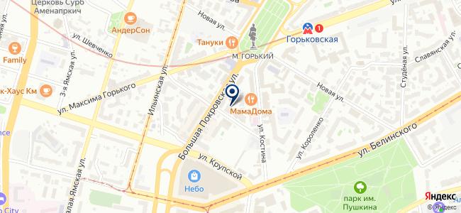 Геостройизыскания на карте